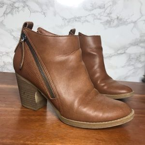 Dolce Vita Side Zip Ankle Booties